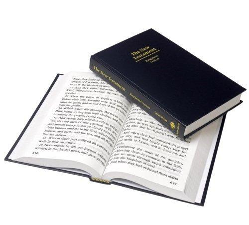 KJV Giant Print New Testament