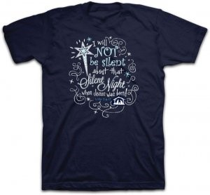 T-Shirt Silent Night 2XLARGE