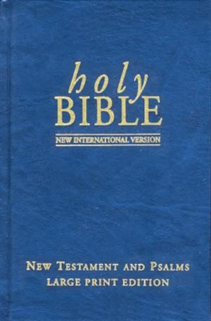 NIV Large Print New Testament and Psalms
