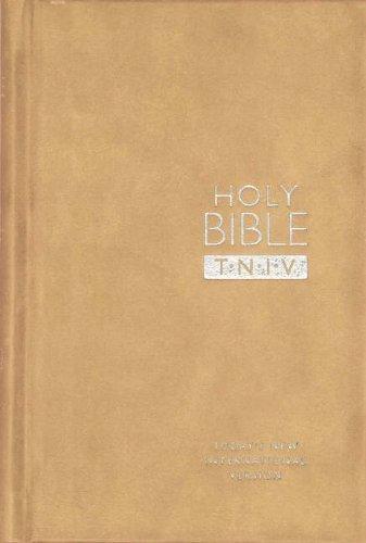 TNIV Personal Bible Suedel/Oatmeal