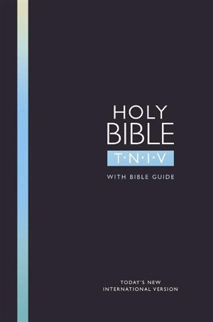 TNIV Popular Bible with Guide Black