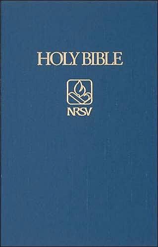 NRSV Pew Bible, Blue