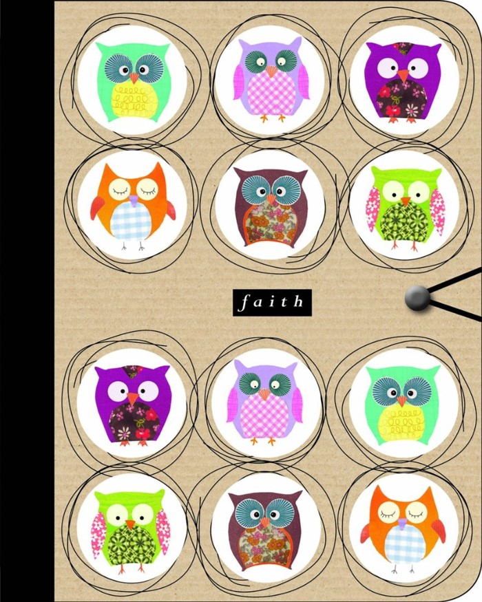 Journal: Faith (Owls)