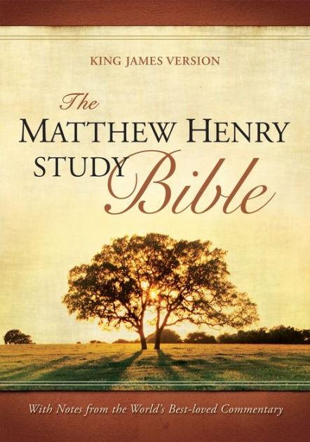 KJV Matthew Henry Study FS/Br/Ta