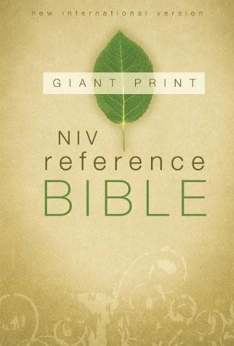 NIV Reference Bible, Giant Print