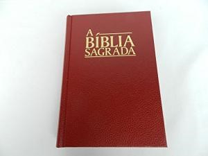 Portuguese Bible Medium Black - Biblia Sagrada