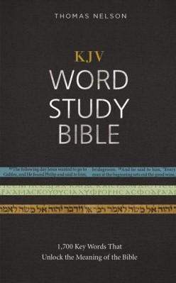 KJV Word Study Bible, HB