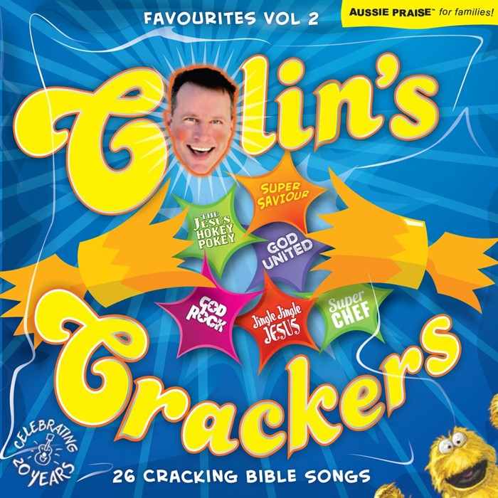 Colin's Crackers: CD