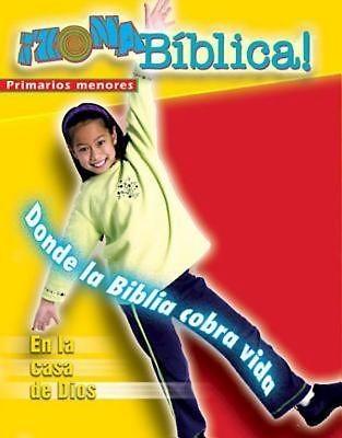 Zona Biblica En la Casa de Dios Younger Elementary Leader's