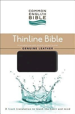 CEB Common English Thinline Bible, Genuine Leather Cowhide B