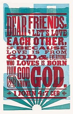 CEB Love Is from God with Apocrypha