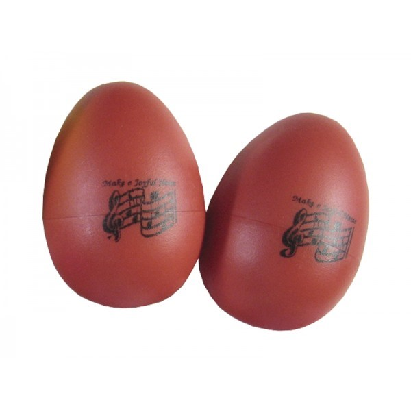Egg Shakers - Red (Pack of 2)
