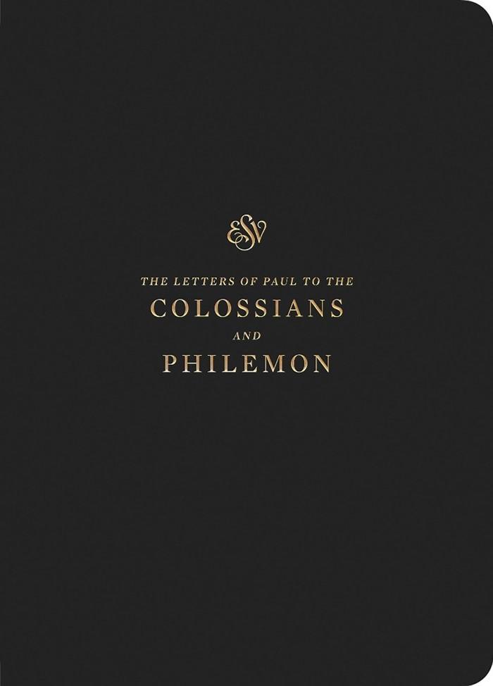 ESV Scripture Journal: Colossians and Philemon