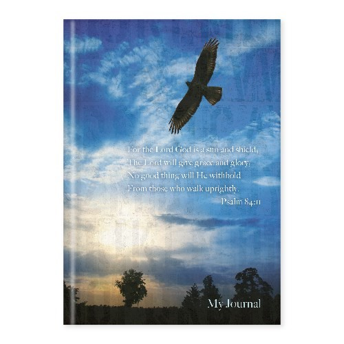 Hard Cover Journal Eagle Psalm 84:11