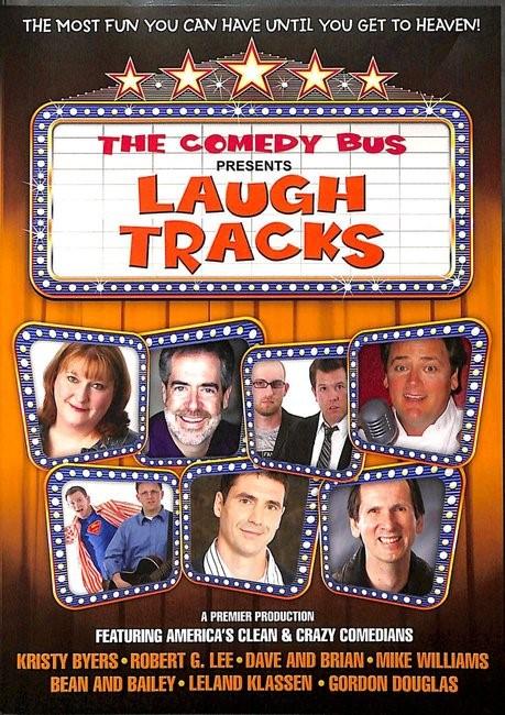Comedy Bus Presents: Laugh Tracks DVD