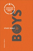 CSB Study Bible For Boys (Hard Cover)