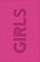 CSB Study Bible For Girls, Hot Pink, Paisley Design (Imitation Leather)