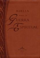 Biblia Para la Guerra Espiritual - Imitación Piel (Leather Binding)