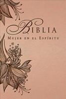 Biblia Mujer en el Espíritu (Rosa Tostado) (Leather Binding)