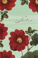 Red Blooms Notes Scripture Journal (Hard Cover)