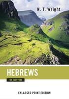 Hebrews for Everyone (Enlarged Print)