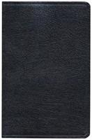 KJV Ultrathin Reference Bible, Black Bonded Leather Indexed (Bonded Leather)
