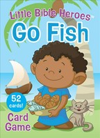 Little Bible Heroes Go Fish Card Game