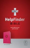 NLT HelpFinder Bible, Pink