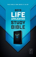 NLT Boys Life Application Study Bible (Hard Cover)