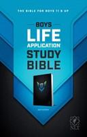 NLT Boys Life Application Study Bible (Paperback)