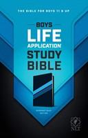 NLT Boys Life Application Study Bible, TuTone (Imitation Leather)