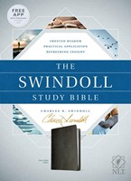 The NLT Swindoll Study Bible Black