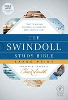 The NLT Swindoll Study Bible, Large Print
