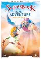 Superbook: A Giant Adventure DVD