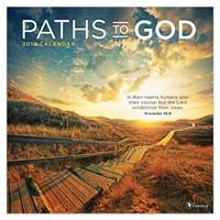 2019 Paths To God Wall Calendar