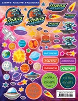 VBS 2019  Craft Theme Stickers (Pkg of 12) (Stickers)