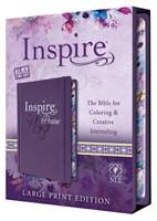 NLT Inspire PRAISE Bible Large Print (Hard Cover)