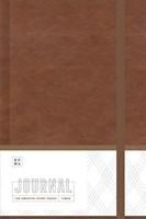 Ezra Journal, Brown (Imitation Leather)