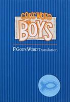 God's Word For Boys Blue/Light Blue Duravella (Leather Binding)