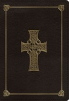 ESV Large Print Compact Bible, TruTone, Charcoal (Imitation Leather)