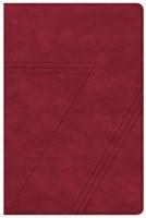 CSB Seven Arrows Bible, Crimson LeatherTouch (Imitation Leather)