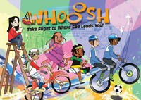 VBS 2019 Whooosh Activity Stickers Sheets (Pkg of 12) (Stickers)