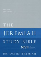 The NIV Jeremiah Study Bible (Hard Cover)