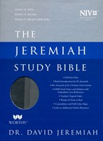 NIV Jeremiah Study Bible, Gray, Indexed (Imitation Leather)