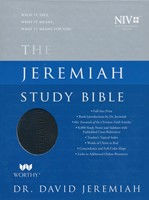 NIV Jeremiah Study Bible, Black, Indexed (Imitation Leather)