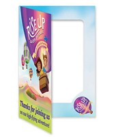Rise Up With Jesus Foto Frame (Pack of 10) (General Merchandise)