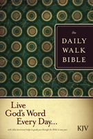 The KJV Daily Walk Bible