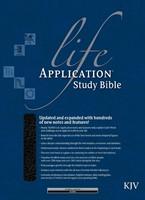 KJV Life Application Study Bible, Black, Indexed (Imitation Leather)