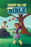 CEB Deep Blue Kids Bible Wilderness Trail Hardcover (Hard Cover)