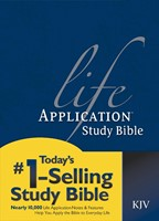 KJV Life Application Study Bible (Hard Cover)